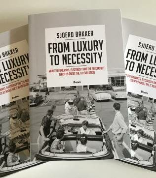 Book presentation From Luxury to Necessity: what the railways, electricity and the automobile teach us about the IT revolution – Sjoerd Bakker