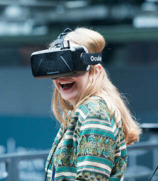 VR: a disruptive tool for changing behavior